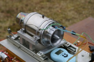 Jet Engine GR-180 model airplane plan