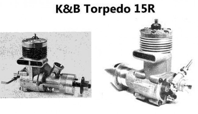 K&B Torpedo 15R model airplane plan