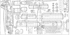 "Antonov AN-2 Colt (resized to 48"" span) model airplane plan"