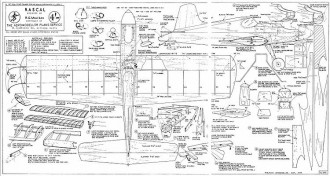 rascal cl 95cm model airplane plan