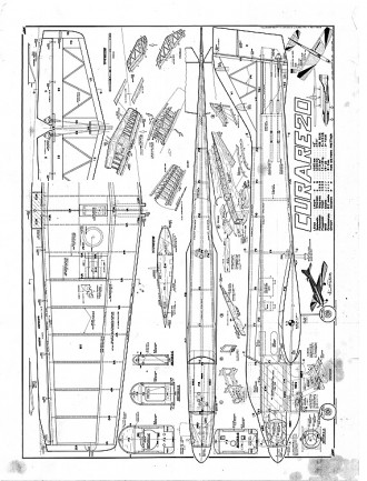 Curare20 MK plan 2 bjorn model airplane plan