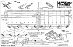 firebird 90cm model airplane plan