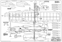 p-51 mustang carrier sterling 70cm model airplane plan