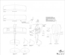 Pitts Special S-1T/S-2C model airplane plan