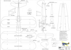 Stearman PT-17 model airplane plan
