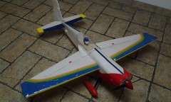 Extra 330 model airplane plan