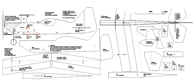 Ulti 200 model airplane plan