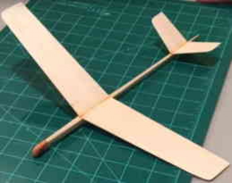 "12"" Sandpiper model airplane plan"