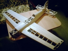 SPIN model airplane plan