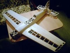 SPIN model airplane plan