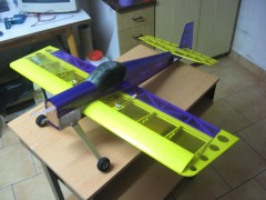 3DP mini model airplane plan