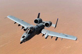 A-10 Thunderbolt model airplane plan