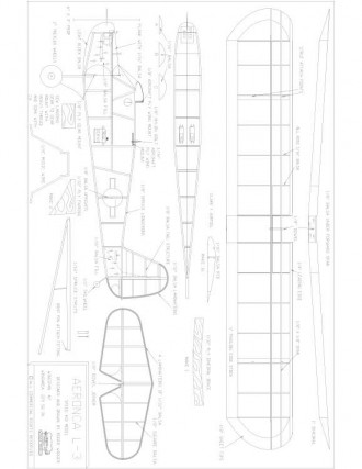 Aeronca L-3 model airplane plan