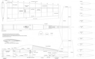 Ag 120 model airplane plan