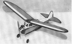 Air Warden model airplane plan