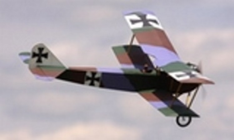 Albatros B.1 model airplane plan
