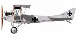 Albatross B.I model airplane plan