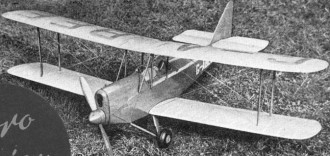 Avro Avian model airplane plan