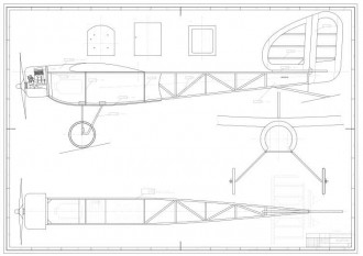 Baron model airplane plan