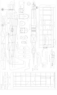 Brooklyn Annie model airplane plan