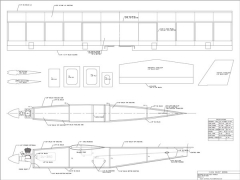 Buzz Bomb model airplane plan