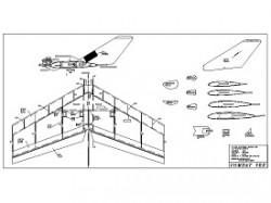 Combat Vee model airplane plan