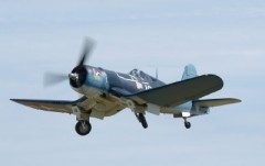 Chance Vought Corsair F4U model airplane plan