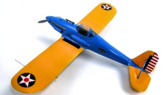 Curtiss XP-31 Swift model airplane plan
