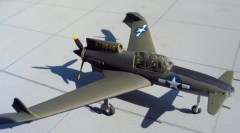 Curtiss XP-55 Ascender model airplane plan