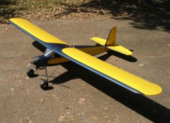 Dallaire Sportster 1936 model airplane plan