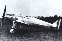De Havilland 77 model airplane plan