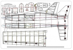 Eagle .45 model airplane plan