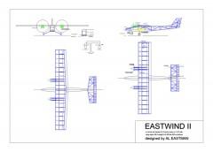 Eastwind II model airplane plan