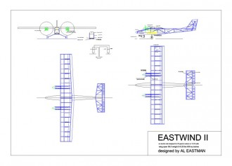 Eastwind II model airplane plan