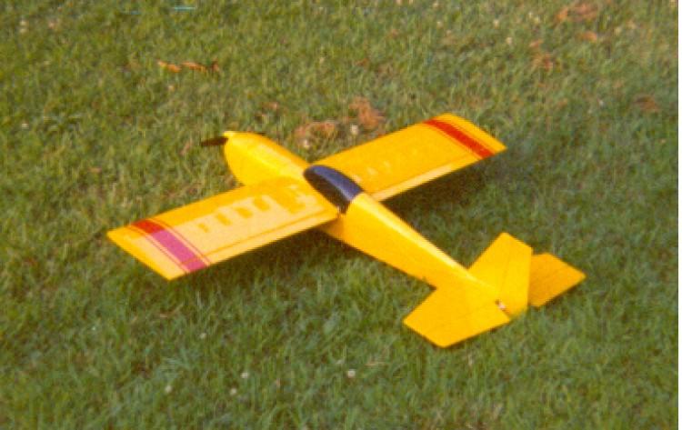Extra 150 model airplane plan