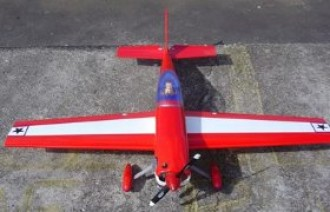Extra 300s-45 model airplane plan