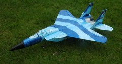 F-15 Eagle model airplane plan