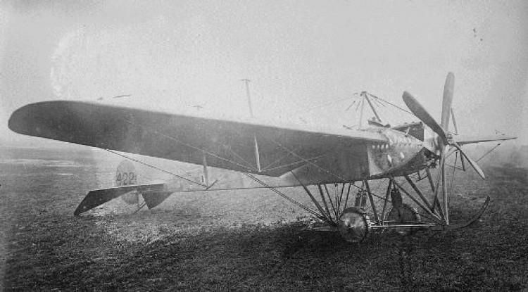 Flanders Monoplane model airplane plan