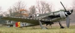 Focke Wulf TA 152H model airplane plan