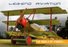 Fokker Dr.I Triplane model airplane plan