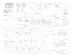 Forwarder BW vector model airplane plan