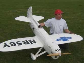 Howard DGA-5 model airplane plan