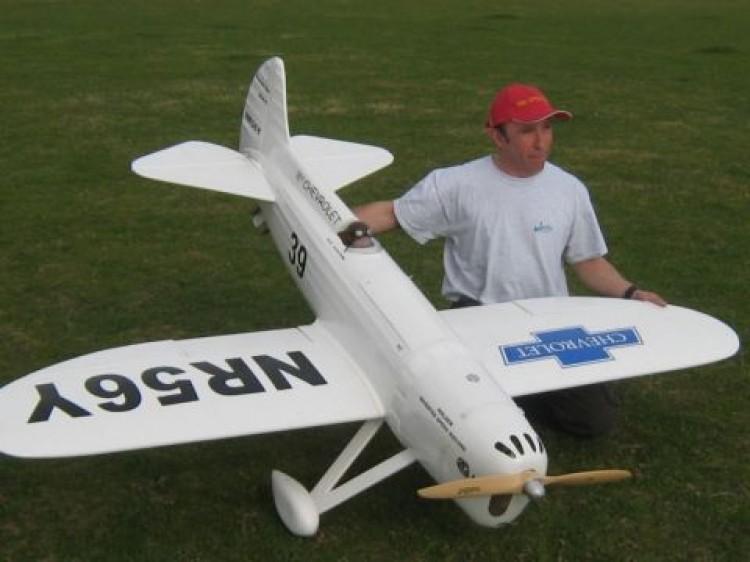 Howard DGA-5 model airplane plan