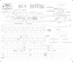 Jader 60 BW vector model airplane plan