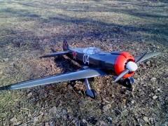 LA 5 FN model airplane plan