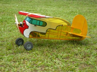 Lazy Bee model airplane plan