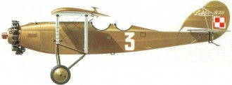 Lublin R-XIV model airplane plan