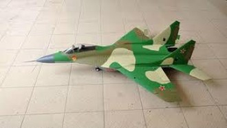 Mig 29 model airplane plan