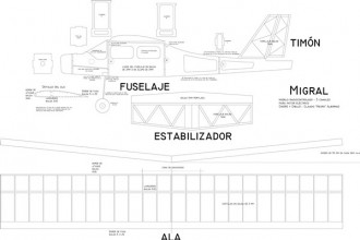 Migral model airplane plan