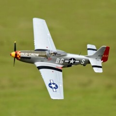P-51D Mustang model airplane plan